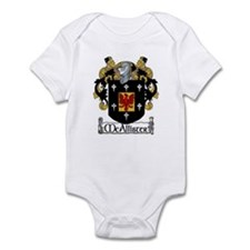 McAllister Coat of Arms Infant Bodysuit
