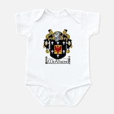 McAllister Coat of Arms Infant Bodysuit