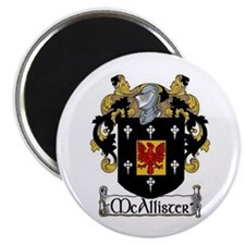 """McAllister Coat of Arms 2.25"""" Magnet (10 pack)"""