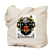McAllister Coat of Arms Tote Bag