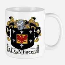 McAllister Coat of Arms Small Small Mug