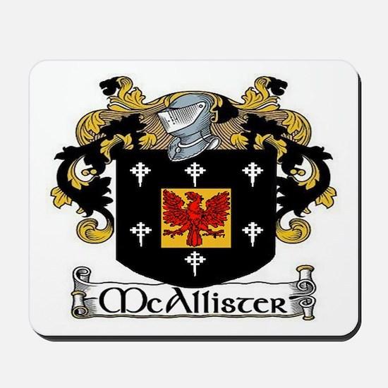 McAllister Coat of Arms Mousepad