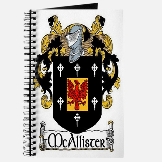 McAllister Coat of Arms Journal