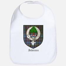 Anderson Clan Crest Tartan Bib