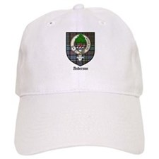 Anderson Clan Crest Tartan Baseball Cap
