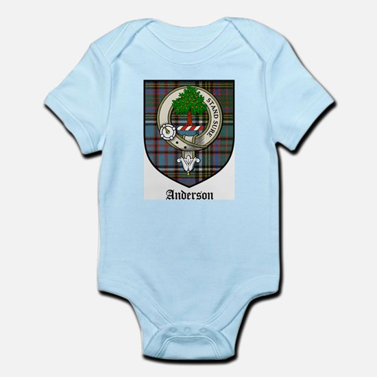 Anderson Clan Crest Tartan Infant Creeper