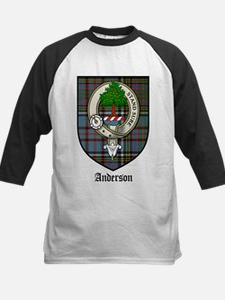 Anderson Clan Crest Tartan Tee