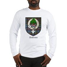 Anderson Clan Crest Tartan Long Sleeve T-Shirt