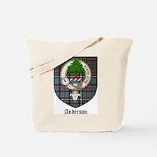 Anderson Clan Crest Tartan Tote Bag