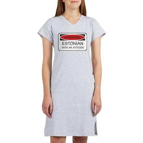 Attitude Estonian Women's Nightshirt