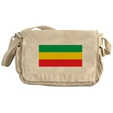 Ethiopia Flag Messenger Bag