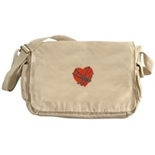 Chained Heart Valentine Messenger Bag