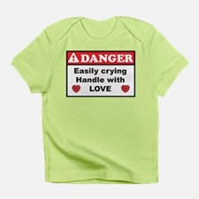 Infant T-Shirt Danger, handle with love Girl/Boy