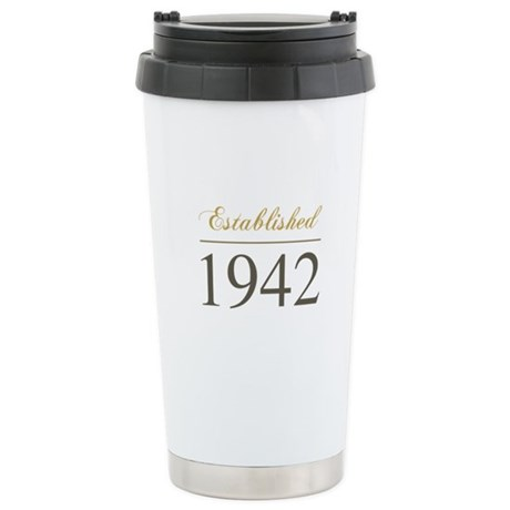 Established 1942 Stainless Steel Travel Mug