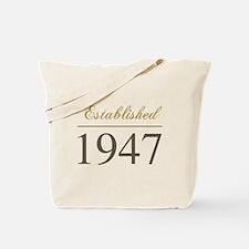Established 1947 Tote Bag