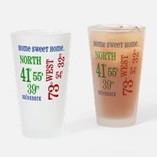 rhinebeck coordinates Drinking Glass
