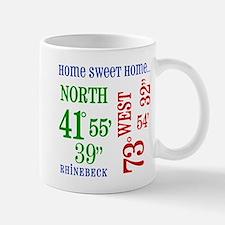 rhinebeck coordinates Mug