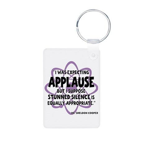 Applause Aluminum Keychain (on both sides)
