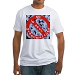No Marshmallows Fitted T-Shirt