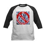 No Marshmallows Kids Baseball Jersey