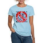 No Marshmallows Women's Pink T-Shirt