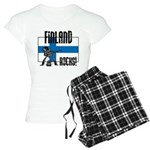 Finland Rocks Women's Light Pajamas