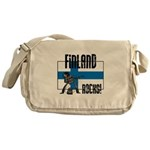 Finland Rocks Messenger Bag