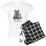 Vintage France Women's Light Pajamas