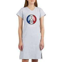 Peace In France Women's Nightshirt