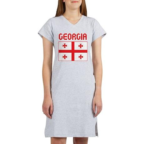 Georgia Flag Women's Nightshirt