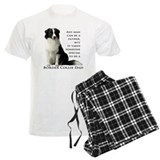 Border collie Men's Light Pajamas