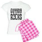 Guyana Rocks Women's Light Pajamas