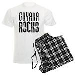 Guyana Rocks Men's Light Pajamas