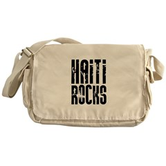 Haiti Rocks Messenger Bag
