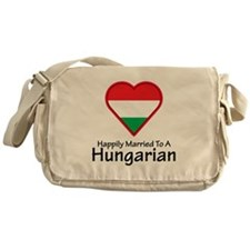 Happily Married Hungarian Messenger Bag