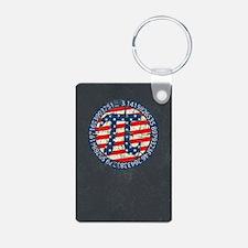 American Pi, Pie Distressed Keychains
