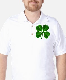 Lucky Charm 4-Leaf Clover Irish T-Shirt