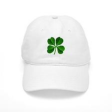 Lucky Charm 4-Leaf Clover Irish Baseball Cap