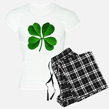 Lucky Charm 4-Leaf Clover Irish Pajamas