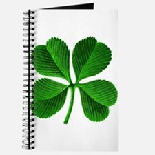 Lucky Charm 4-Leaf Clover Irish Journal