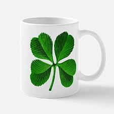 Lucky Charm 4-Leaf Clover Irish Mug