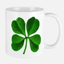 Lucky Charm 4-Leaf Clover Irish Small Small Mug