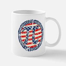 American Pi, Pie Distressed Mug