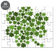 Lucky St. Patty's Day Shamrock Puzzle