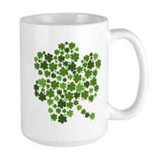 Lucky St. Patty's Day Shamrock Mug