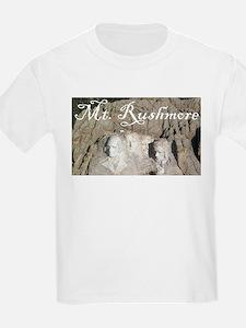 MOUNT RUSHMORE Kids T-Shirt