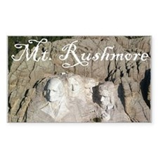 MOUNT RUSHMORE Rectangle Decal