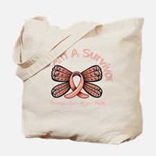 Uterine Cancer I 'm A Survivor Tote Bag