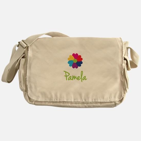 Pamela Valentine Flower Messenger Bag
