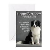 Border collies Greeting Cards